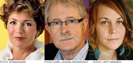 I panelen bland annat Amelia Adamo, Sverker Olofsson och Maria Sveland.
