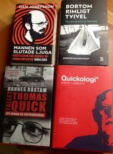 Böcker om Quick-fallet.